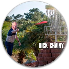 Dick Chainy Dynamic Discs Fuzion Sheriff Driver Disc