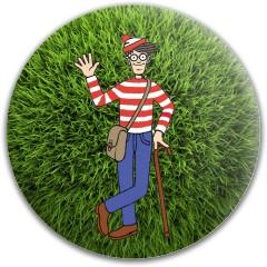 Found Waldo Dynamic Discs Fuzion Felon Driver Disc