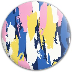 Pastel Grunge Dynamic Discs Fuzion Felon Driver Disc