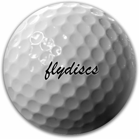 Golf Ball Disc Dynamic Discs Fuzion Suspect Midrange Disc