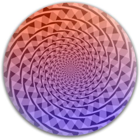 Fraser Spiral Texture Template Dynamic Discs Fuzion Suspect Midrange Disc