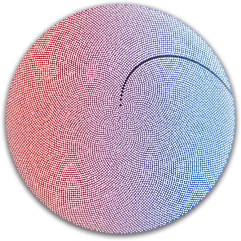 Spiral Texture Template Dynamic Discs Fuzion Verdict Midrange Disc