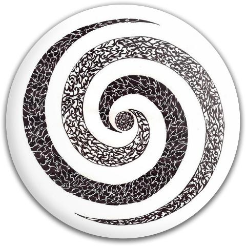 Spiral Tattoo MVP Neutron Volt Driver Disc