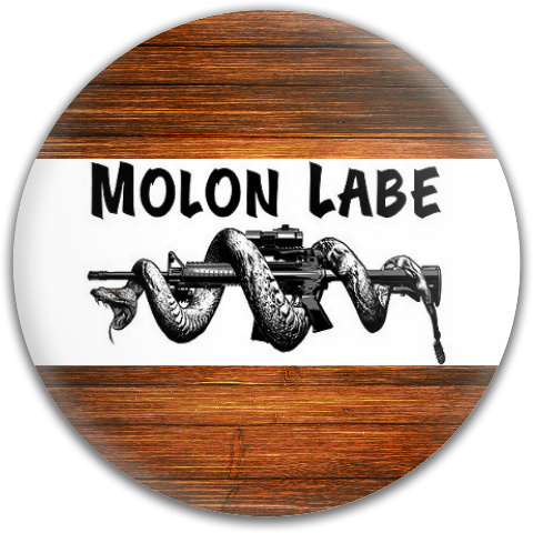 Molon Labe Dynamic Discs Fuzion Judge Putter Disc
