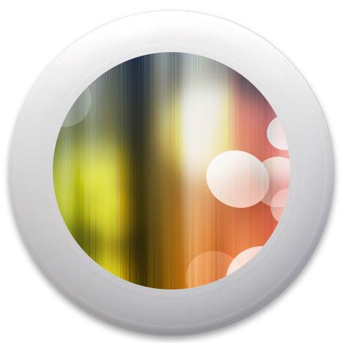 Rainbow Bubbles Innova Pulsar Custom Ultimate Disc
