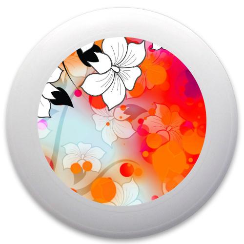 Tropical Flower Motif Innova Pulsar Custom Ultimate Disc