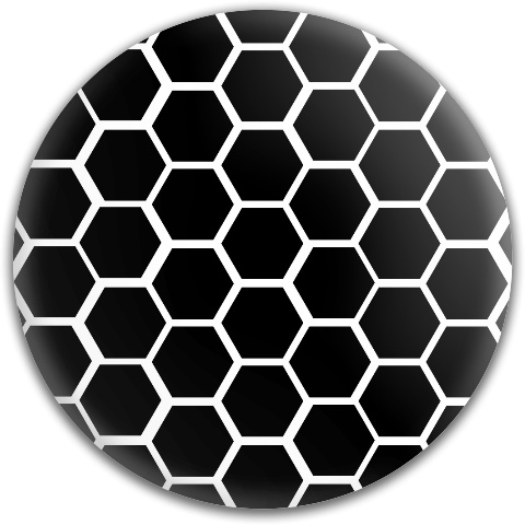 Black Honeycomb Dynamic Discs Fuzion Judge Putter Disc