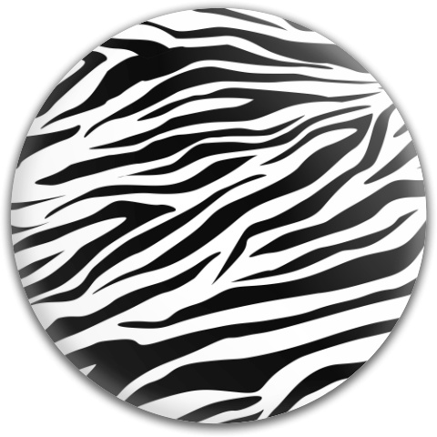 Zebra Stripes Dynamic Discs Fuzion Judge Putter Disc