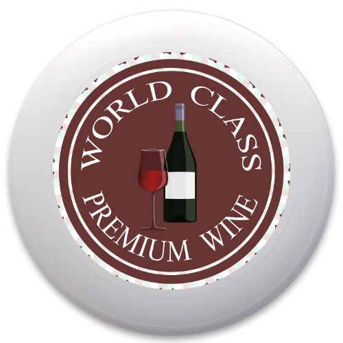 Premium Wine Logo Innova Pulsar Custom Ultimate Disc