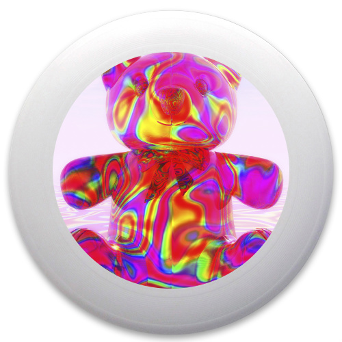 Pink Beary Bear Innova Pulsar Custom Ultimate Disc