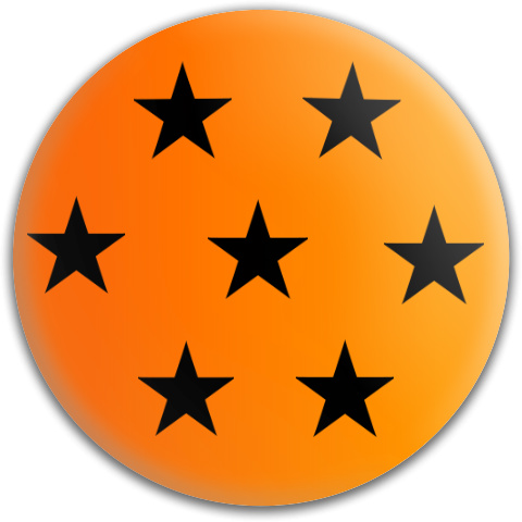 7 Star Dragon Ball Dynamic Discs Fuzion Judge Putter Disc