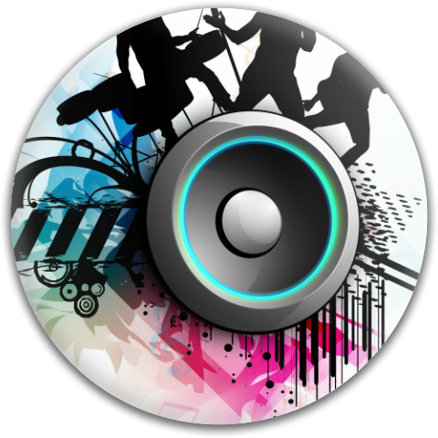 Band Jam Graphic Dynamic Discs Fuzion Verdict Midrange Disc