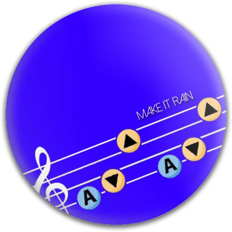 Make It Rain 2 Dynamic Discs Fuzion Judge Putter Disc