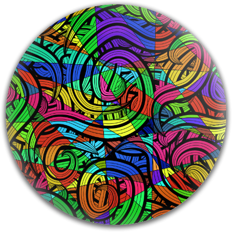 Swirly Whirly Latitude 64 Gold Core Disc