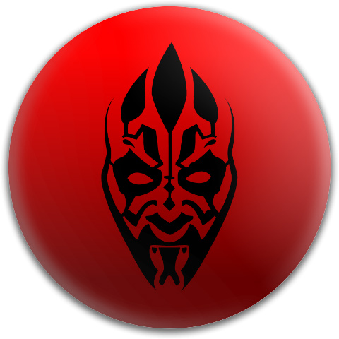 Judge Darth Maul Dynamic Discs Fuzion Judge Putter Disc