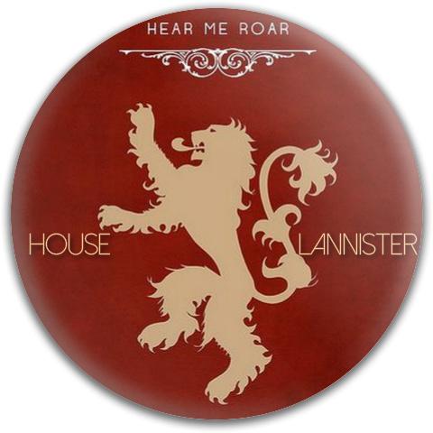 House Lannister Dynamic Discs Fuzion Felon Driver Disc