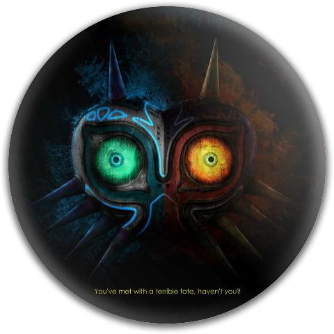 Majora's Mask Dynamic Discs Fuzion Judge Putter Disc