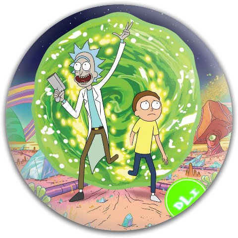 Rick and Morty Latitude 64 Gold Core Disc
