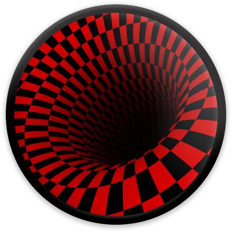 Optical Illusion Black Hole MVP Neutron Resistor Driver Disc