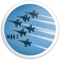 Blue Angels Dynamic Discs Fuzion Defender Driver Disc
