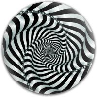 Sprial Illusion Latitude 64 Gold Line Anchor Midrange Disc