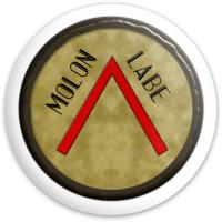 Molan Labe  Latitude 64 Gold Line Gladiator Driver Disc