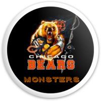 Da Bears! Dynamic Discs Fuzion Sheriff Driver Disc