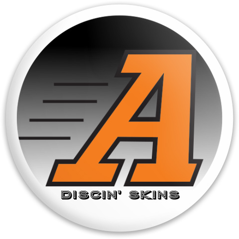 The Discin' Skins of Anderson Latitude 64 Gold Line Missilen Driver Disc