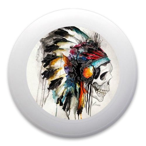 Cherokee Skull Ultimate Frisbee