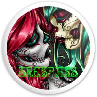 sugar skull Dynamic Discs Fuzion Trespass Driver Disc