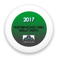 Rainshadow Disc Golf Park Custom Mini Ultimate Disc