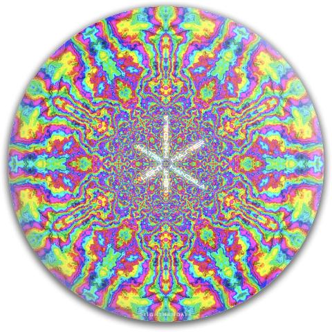 LightMasterSchlup Dynamic Discs Fuzion Justice Midrange Disc