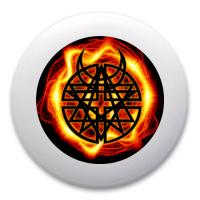 Disturbed logo Ultimate Frisbee