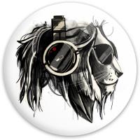 Lion Disc Dynamic Discs Fuzion Defender Driver Disc
