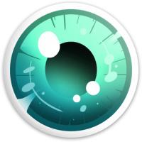 teal eye Dynamic Discs Fuzion Defender Driver Disc