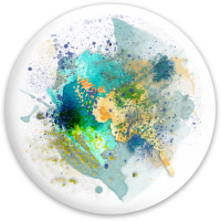 abstract splash Dynamic Discs Fuzion Defender Driver Disc
