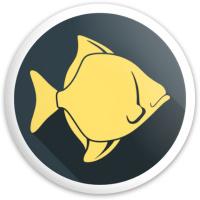 Fish Dynamic Discs Fuzion Defender Driver Disc