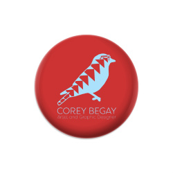 Corey Begay Artist and Graphic Desi Dynamic Discs Judge Mini Disc Golf Marker
