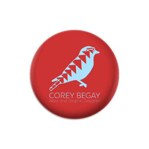 Corey Begay Artist and Graphic Desi Dynamic Discs Judge Mini Disc Golf Marker