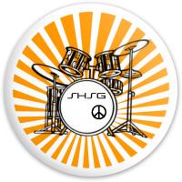 SHSG Drumset Driver Dynamic Discs Fuzion Trespass Driver Disc