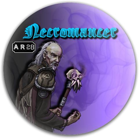Necromancer Dynamic Discs Fuzion Warden Putter Disc