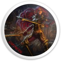ENFORCER PIRATE GIRL Dynamic Discs Fuzion Enforcer Driver Disc