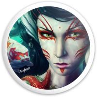 sea girl Dynamic Discs Fuzion Enforcer Driver Disc