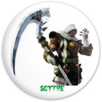 SCYTHE SOUL Dynamic Discs Fuzion Enforcer Driver Disc
