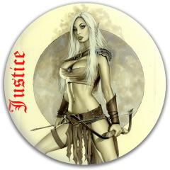 justice girl Dynamic Discs Fuzion Justice Midrange Disc