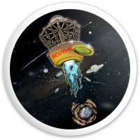 SPACE PUTT SCYTHE Dynamic Discs Fuzion Enforcer Driver Disc