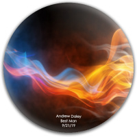 Andy Dynamic Discs Fuzion Suspect Midrange Disc