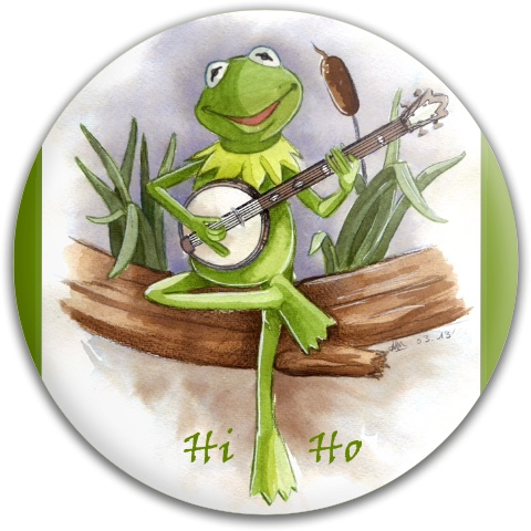 Kermit The Frog Dynamic Discs Fuzion Felon Driver Disc