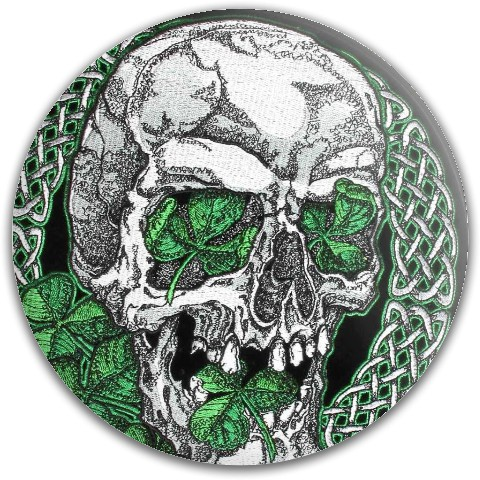 Celtic Skull Dynamic Discs Fuzion Verdict Midrange Disc