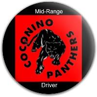Coconino Panthers Dynamic Discs Fuzion Suspect Midrange Disc
